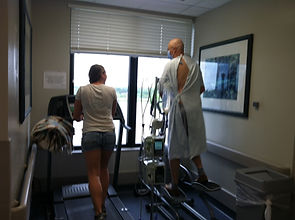 Overcoming hardships through fitness in the hospital