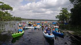 lake norris blueberry paddle