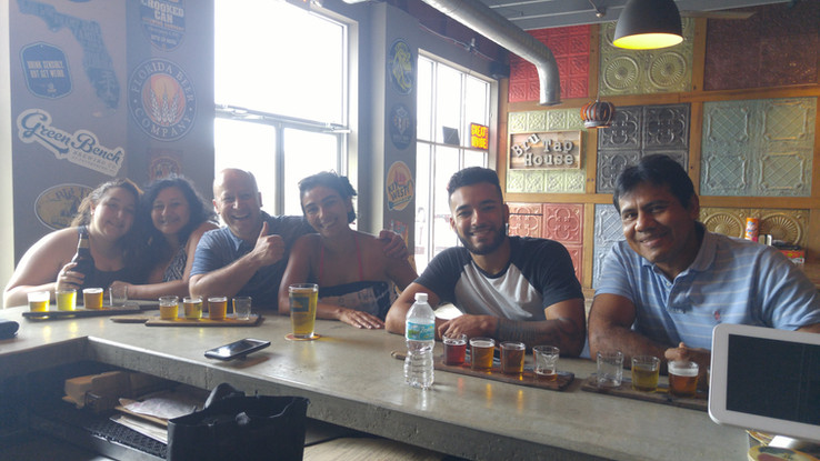 Paddle and Bru tour