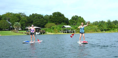 Learn to paddleboard with Adventure Outdoor Paddle
