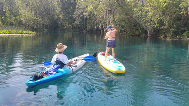 silver springs paddle