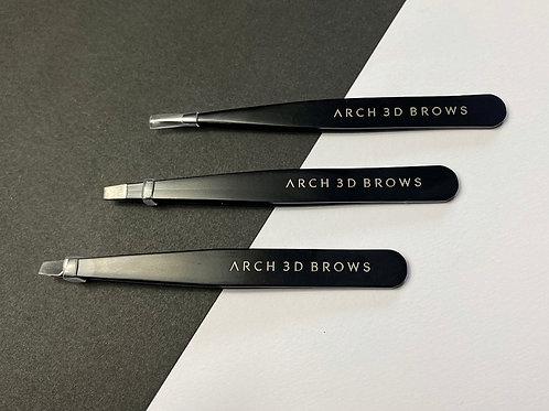 Set of 3 Eyebrow Tweezers