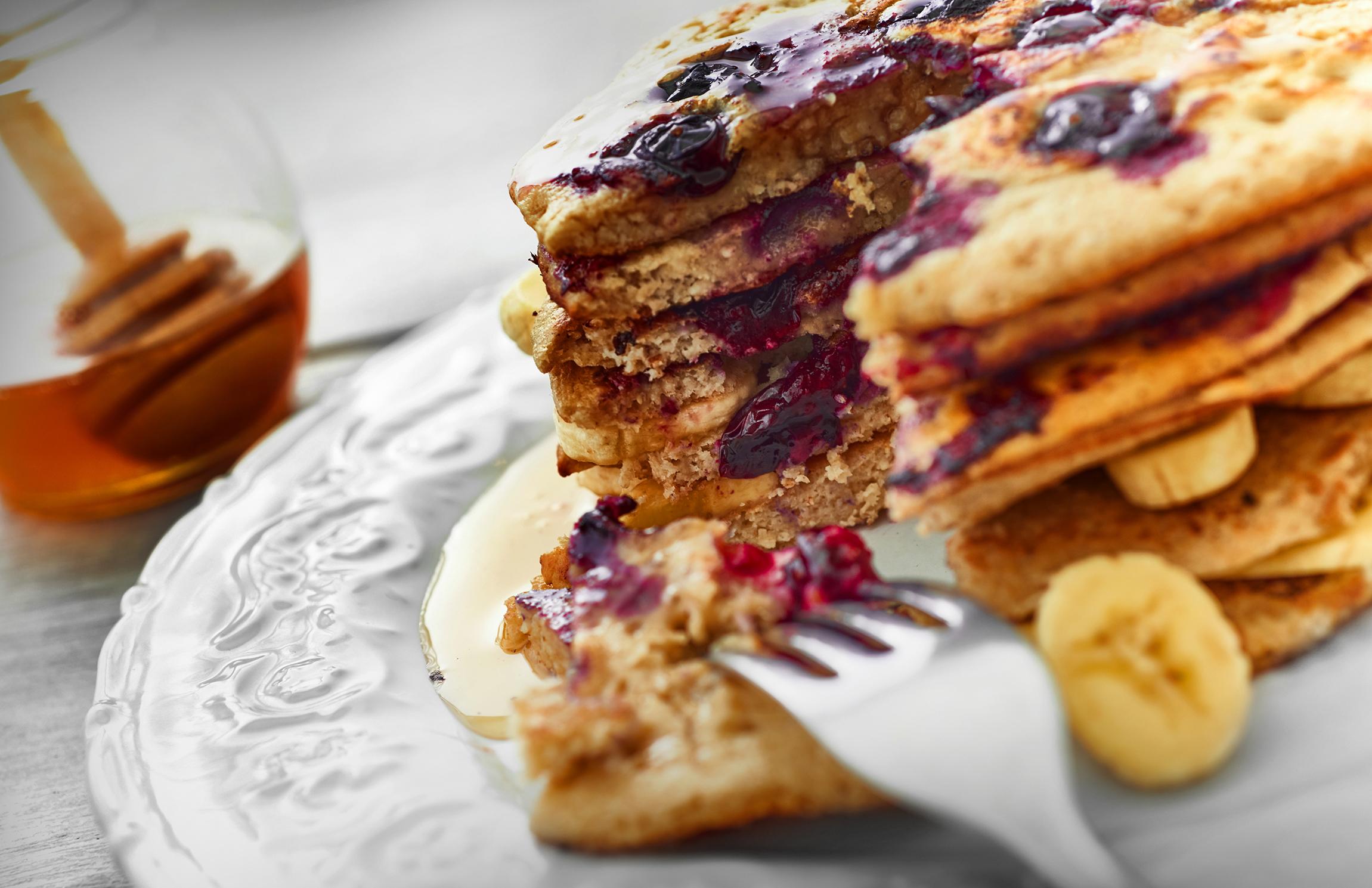 Pancakes avena y arandanos (5) copy