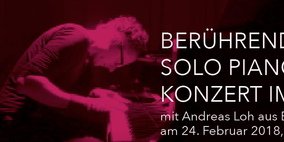 Würzburg - Solo Piano Konzert im Liegen