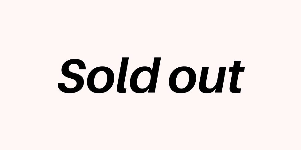 SOLD OUT// YogaCon