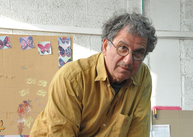 Artist_David_Gerstein_in_his_studio.JPG