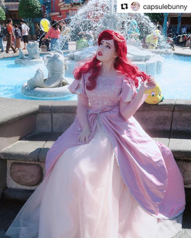 Ariel Dinglehopper dress
