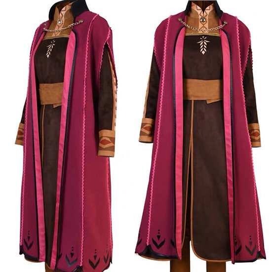 Dreamy collection Disney Frozen2 Anna cape and dress