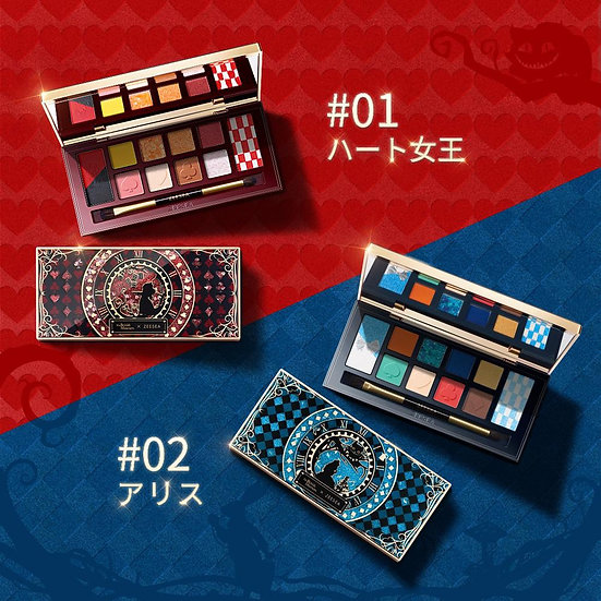 Zeesea x the British museum Alice in wonderland eye shadow palette