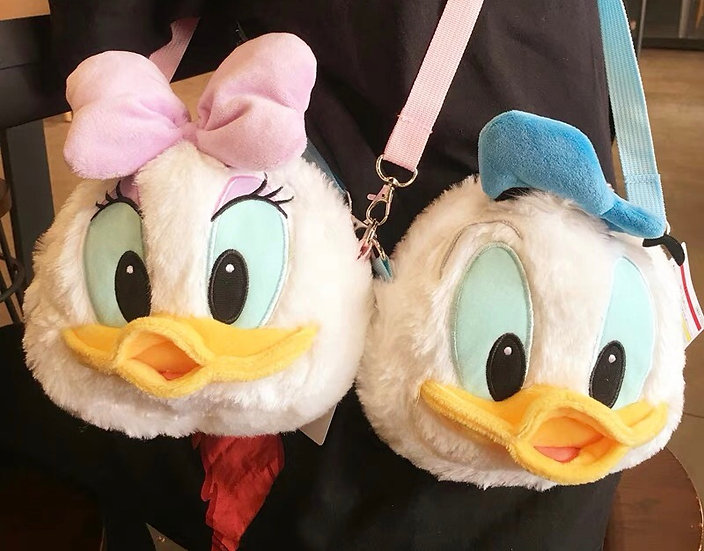 Japan Disney store Mickey and friends Donald Daisy chip n dale minnie bag