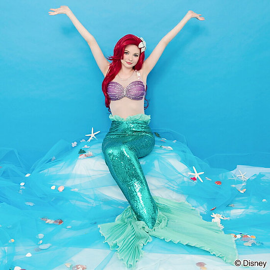 Secret Honey Little mermaid ariel fishtail i will sing costume