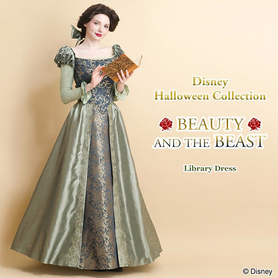 Secret Honey Disney beauty and the beast Belle library dress