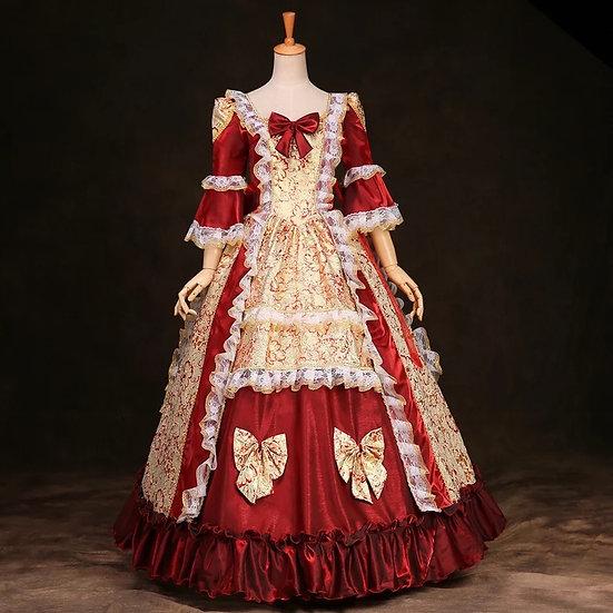 Hana castle low cost belle Christmas gown
