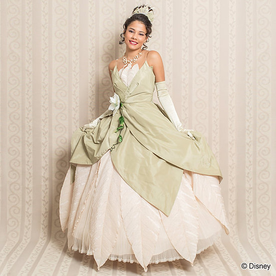 Secret Honey Disney Princess and the frog Tiana Bayou Dress set