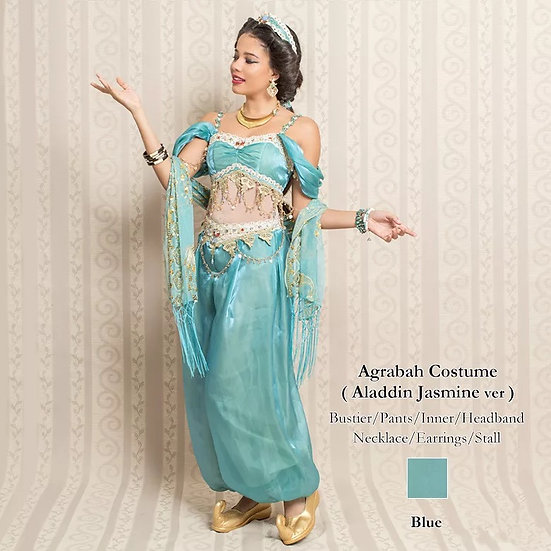 Secret Honey Aladdin Jasmine Agrabah Costume