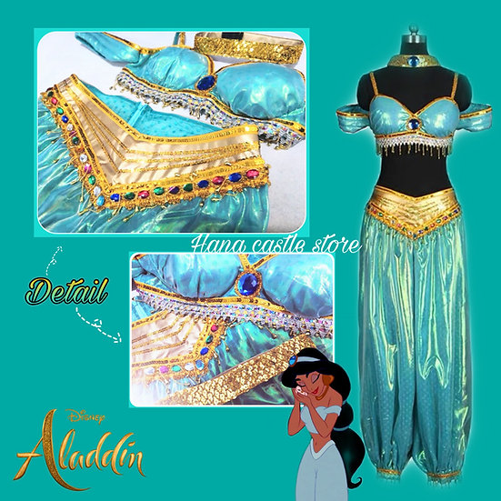 Dreamy collection Aladdin jasmine tailor made costume