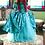 Thumbnail: Disney Dreamy collection: Little mermaid Princess Ariel green embroidery dress