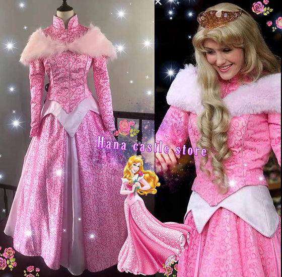 Dreamy collection Sleeping Beauty Aurora Winter dress