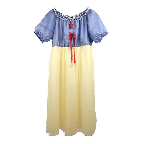 Taiwan designer brand Kawaii Disney Snow White dress