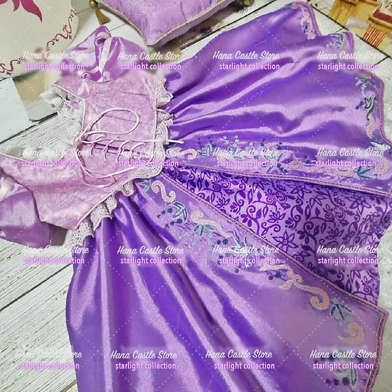 Starlight collection Rapunzel I see the light girl dress