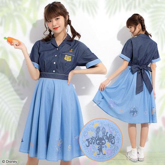 Secret Honey Zootopia Judy Hopps denim one piece dress