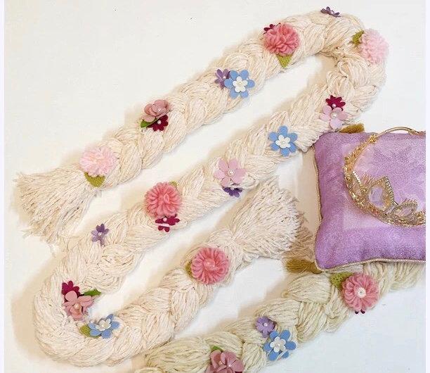 Secret Honey Tangled princess Rapunzel scarf