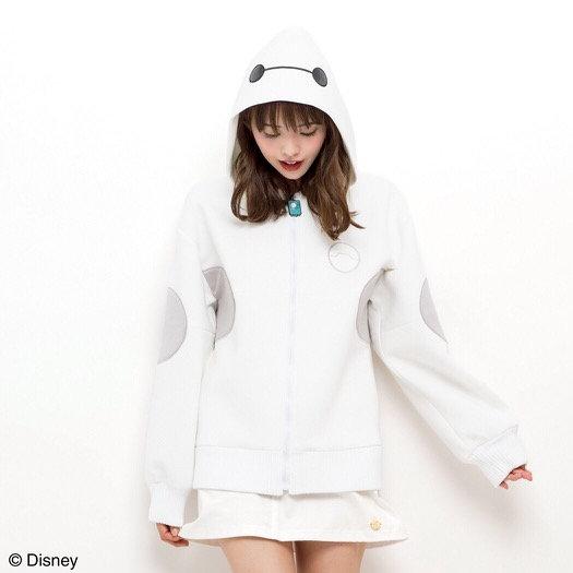 Pre-order: Secret Honey Disney baymax hoodie