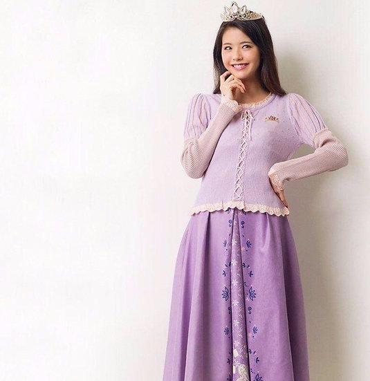 Secret Honey Tangled Rapunzel purple long skirt