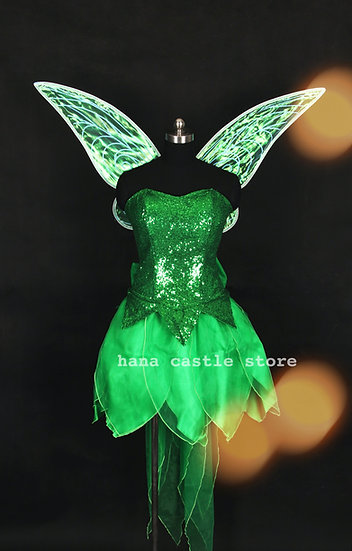 Dreamy collection Tinkerbell dress set