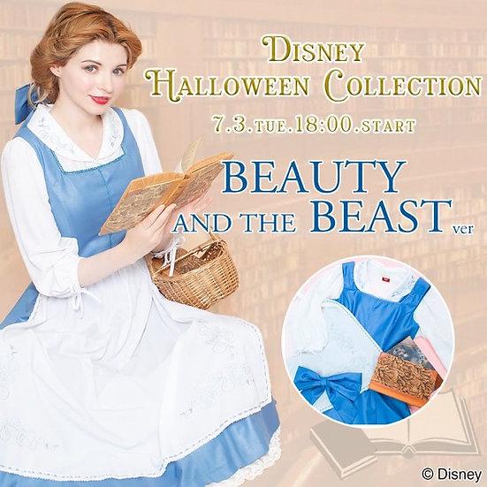 Secret Honey Beauty and the beast little town 2018 cartoon belle Halloween dress