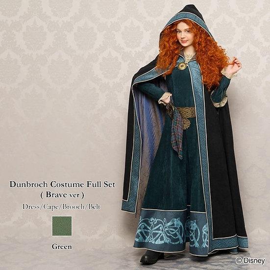 Secret Honey Disney Brave Merida cape and dress set