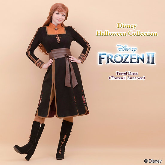 Pre-order items: Secret honey Frozen 2 Travel halloween dress