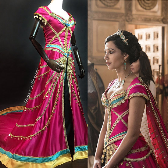 Disney Dreamy collection: Aladdin princess Jasmine Live action pink dress