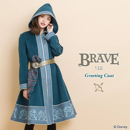 Secret honey Merida brave coat tagged