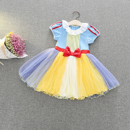Disney Princess Snow white Fairy baby girl dress