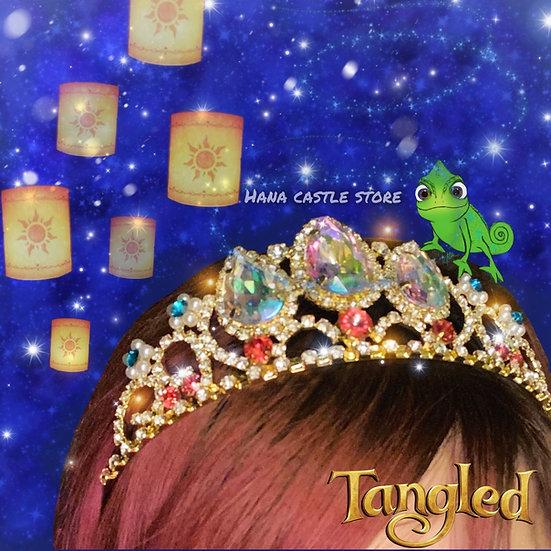 Hana castle rapunzel headband