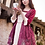 Thumbnail: Secret Honey Beauty and the beast animation pattern pink enchanted dress / top