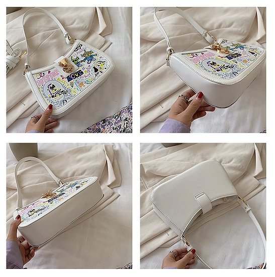 Korean made Toy story graffiti shoulder bag