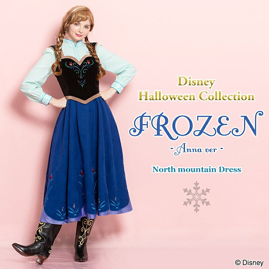 Secret honey Frozen Anna North mountain untagged dress set