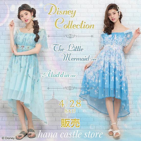 In stock:Secret Honey Disney The little mermaid and Aladdin fish tail dress