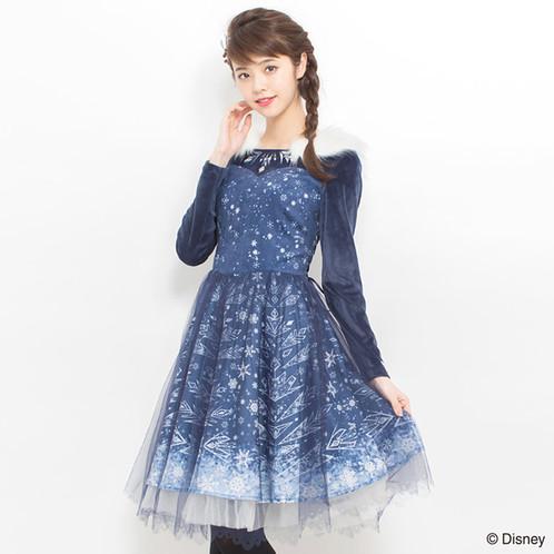 Secret Honey Elsa Ice Dress 2017 Version Latest Measurement Shoulder 35cm Bust 93cm Length 96cm Sleeve 59cm Waist 64cm 86cm