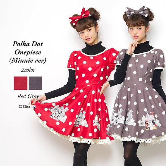 Secret Honey Disney Polka Dot Minnie dress set