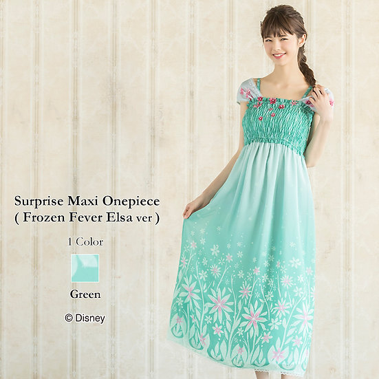 Secret Honey Frozen Fever Elsa Suprise Maxi one piece