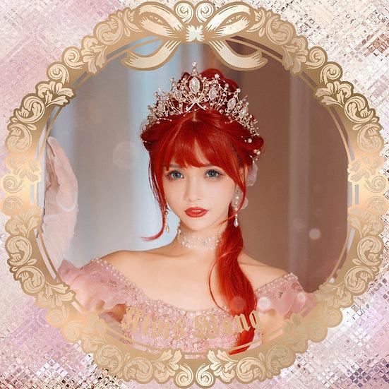 Alois Wang Little mermaid Ariel dinglehopper tiara