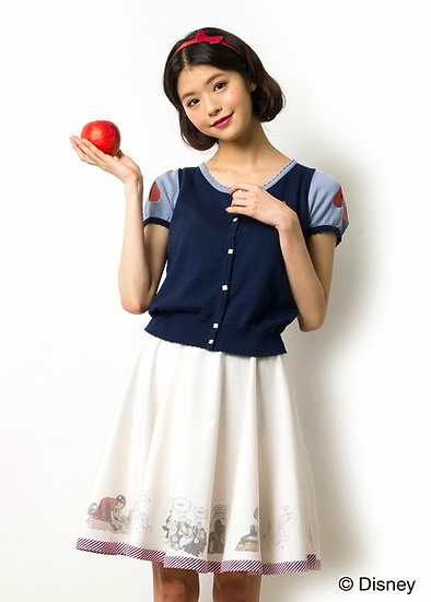 Japan Disney Secret Honey Snow white Cardigan