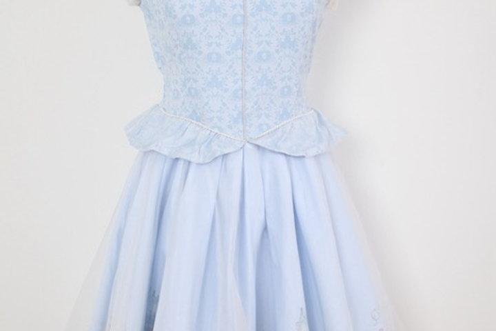 Secret Honey Disney Cinderella blue dress