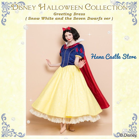 Secret Honey Snow White Disney animation Princess Halloween dress gown