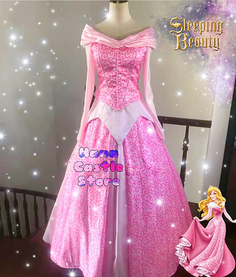 Dreamy collection sleeping beauty aurora once upon a dreamdress