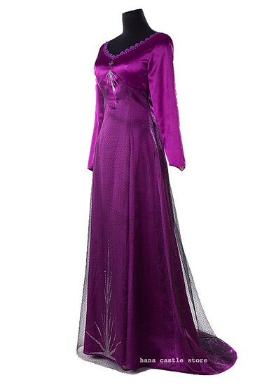 Dreamy collection Elsa Purple night dress