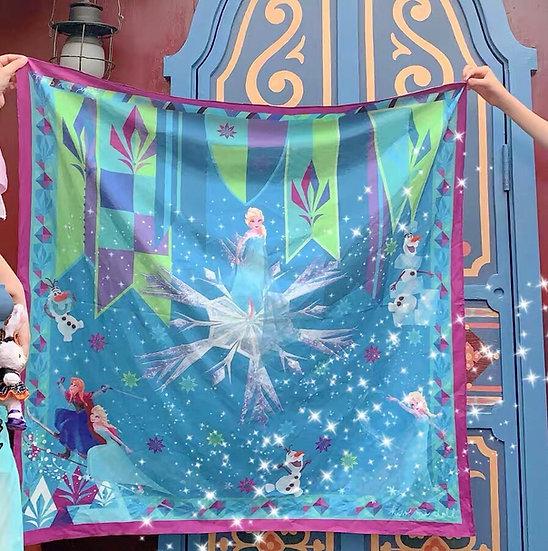 Thailand designed Disney Frozen scarf